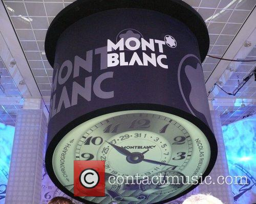 Premiere Montblanc Star at KaDeWe department store