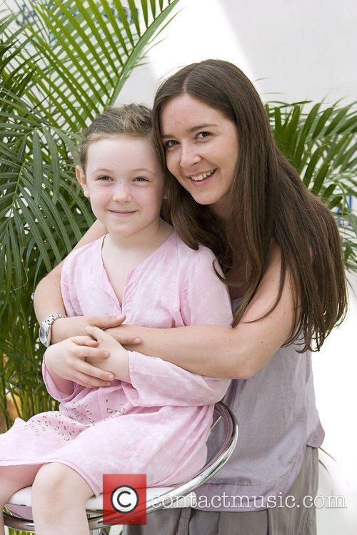 Emmanuelle Boidron with Leia Photocall during the 2008...
