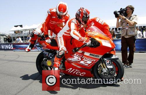 Practice at the Red Bull US MotoGp -...