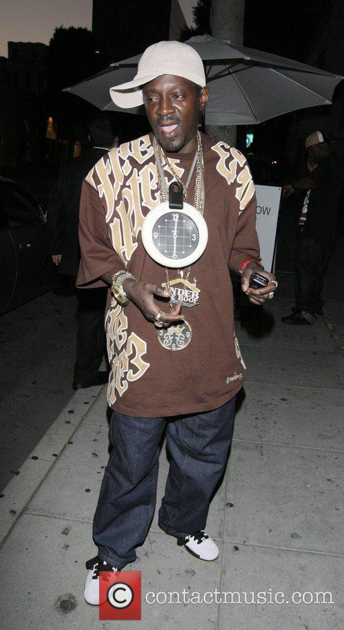 Flavor Flav at Mr Chow Los Angeles, California