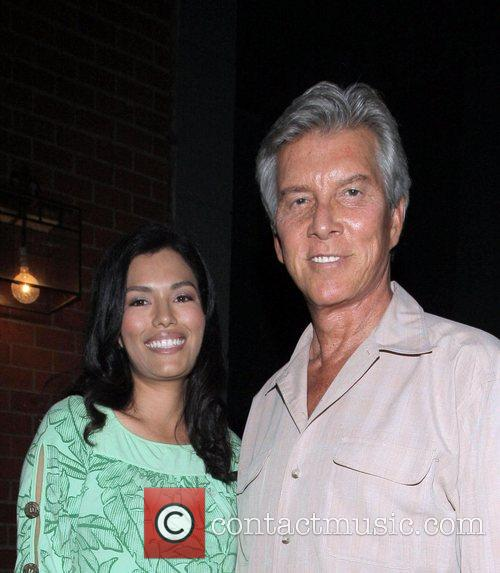 Michael Buffer and his new wife at Mr...