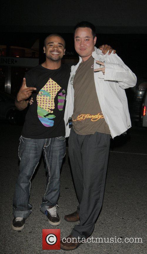 Raz-B at Mr Chow Los Angeles, California