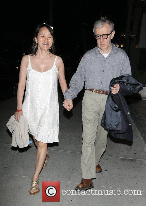 Soon-yi Previn and Woody Allen 1