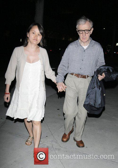 Soon-yi Previn and Woody Allen 7