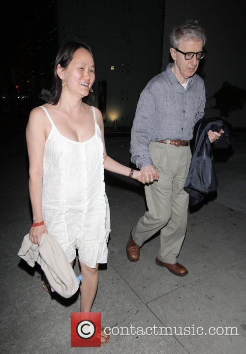 Soon-yi Previn and Woody Allen 4