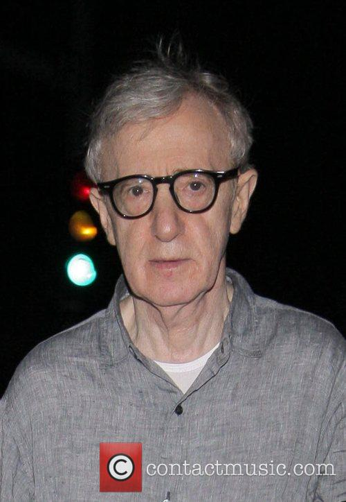 Woody Allen at Mr Chow Los Angeles, California