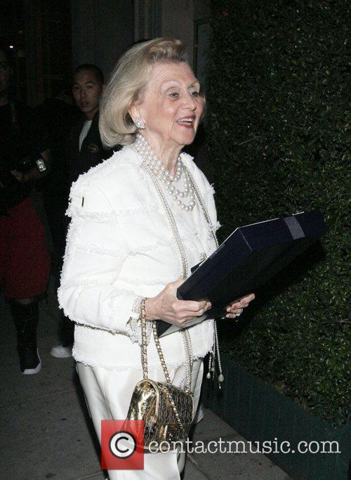 Barbara Davis outside Mr Chow Los Angeles, California