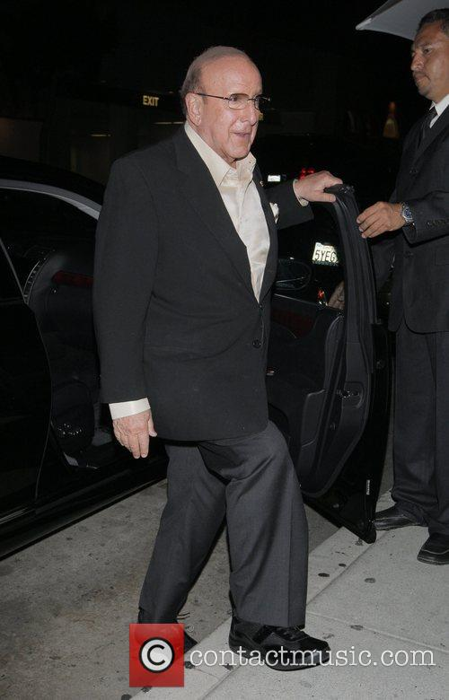 Clive Davis outside Mr Chow