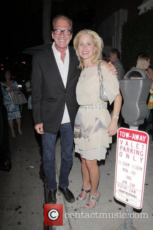 Pat O'Brien, Eloise Taylor Celebrities at Mr Chow...