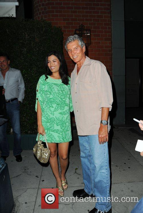 Micahel Buffer and his new wife at Mr...