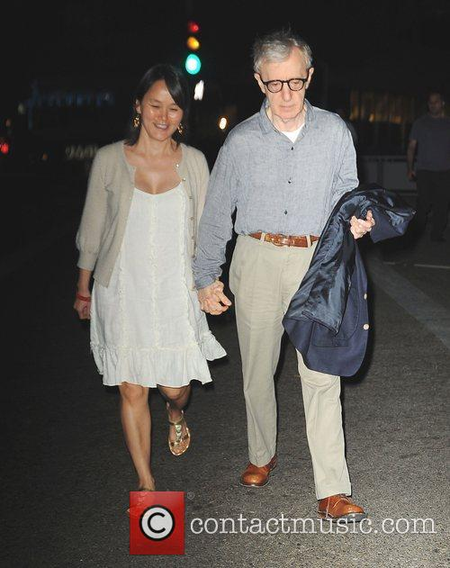 Soon-yi Previn and Woody Allen 8