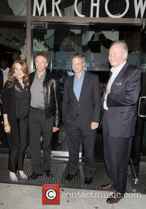 Linda Bruckheimer, Jerry Bruckheimer, Gary Sinise, Jon Voight...