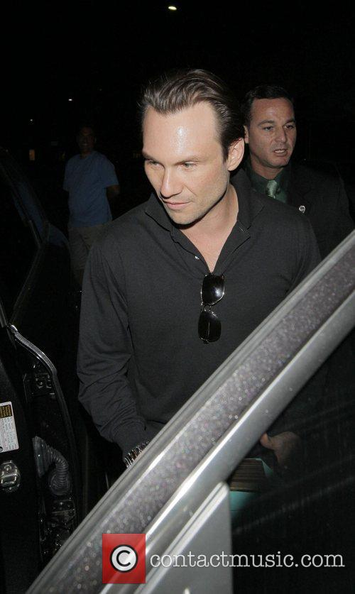 Christian Slater and His Wife 7