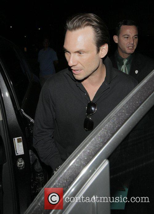 Christian Slater and His Wife 9