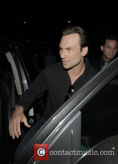 Christian Slater and His Wife 3