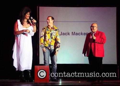 Brittany Lynn, Bruce Hayes and Frank DeCaro Philadelphia...