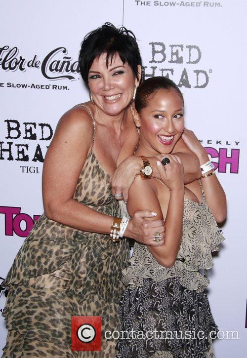 Kris Jenner and Adrienne Bailon In Touch VMA...