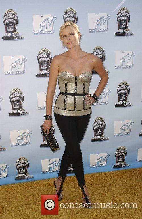 Charlize Theron and Mtv 9