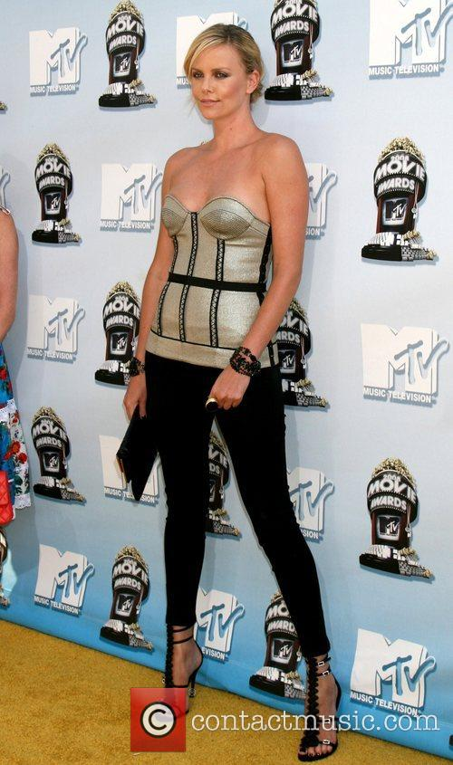 Charlize Theron and Mtv 1