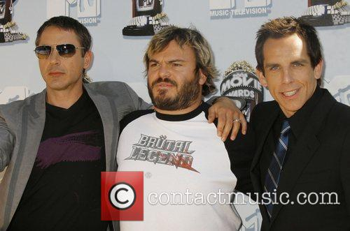 Robert Downey Jr, Jack Black and Mtv 1