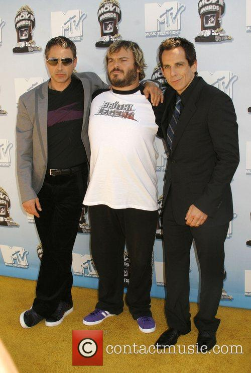 Robert Downey Jr, Jack Black and Mtv 2