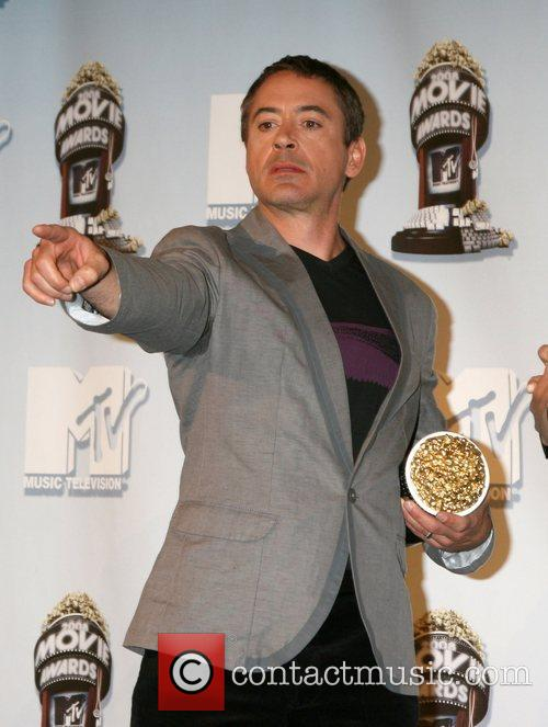 Robert Downey Jr and Mtv 4