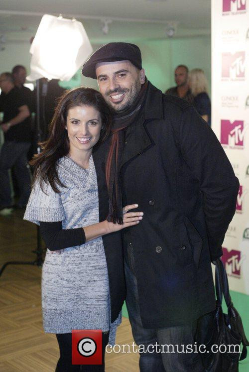 Ada Nicodemou, Chris Xypolitas MTV hosts a party...
