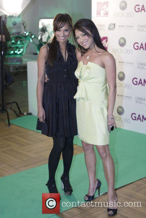 Jennifer DeLeon, Kathleen DeLeon MTV hosts a party...