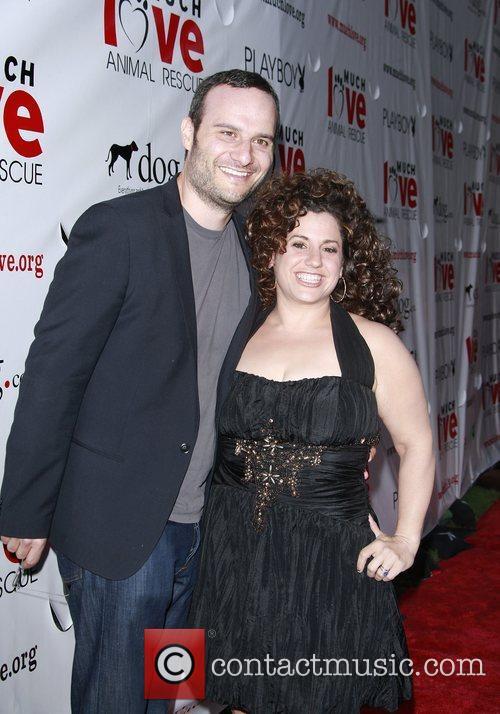 Marissa Jaret Winokur and husband Judah Miller...