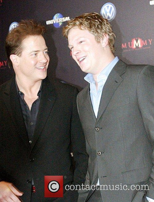 Brendan Fraser and Luke Ford 2