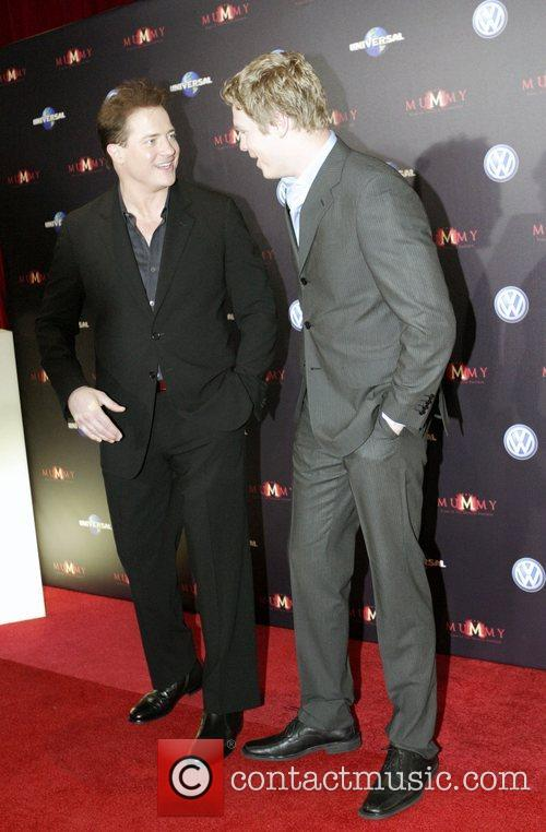 Brendan Fraser and Luke Ford 7