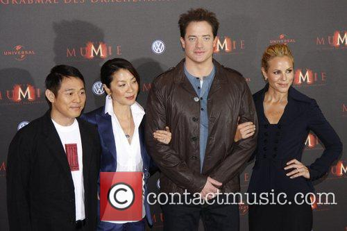 Jet Li, Brendan Fraser and Michelle Yeoh 1