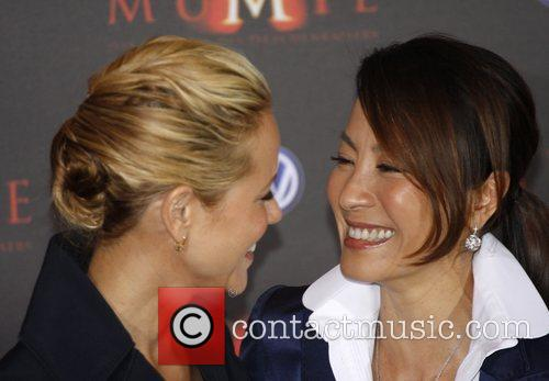 Maria Bello and Michelle Yeoh 7
