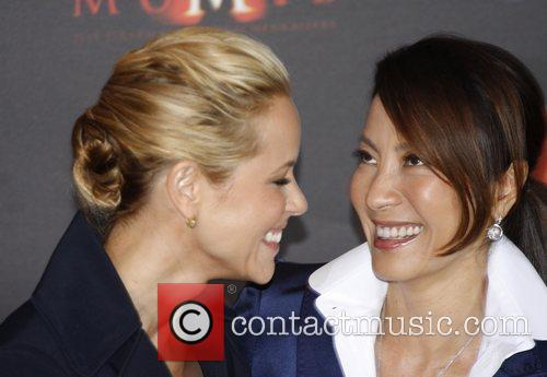 Maria Bello and Michelle Yeoh 3