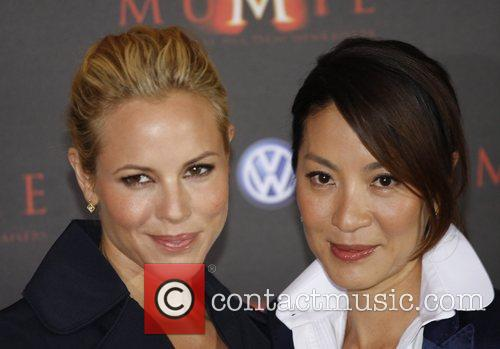 Maria Bello and Michelle Yeoh 6