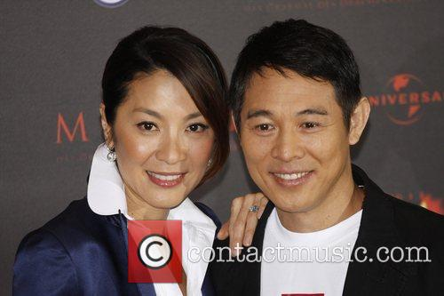Michelle Yeoh and Jet Li