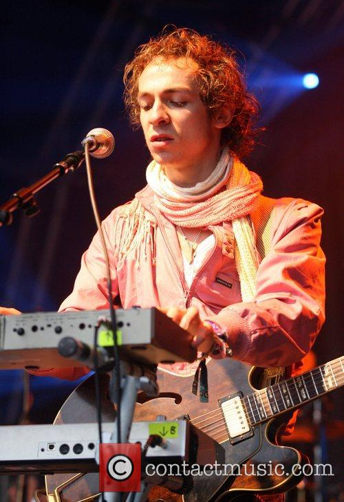 Of the Mystery Jets performing at the 'Live...