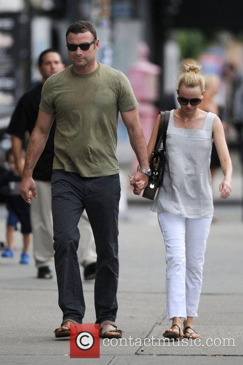 Naomi Watts and Liev Schreiber go for a...