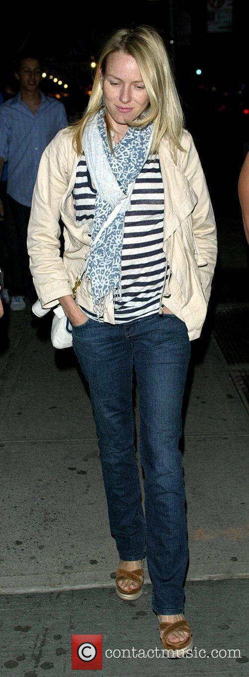 Naomi Watts out and about in the West...