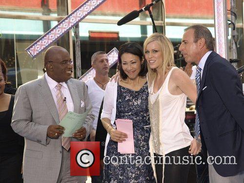 Al Roker, Ann Curry and Natasha Bedingfield 3