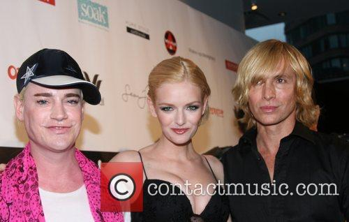 Richie Rich, Lydia Hearst and Marc Bouwer Freshpair.com...