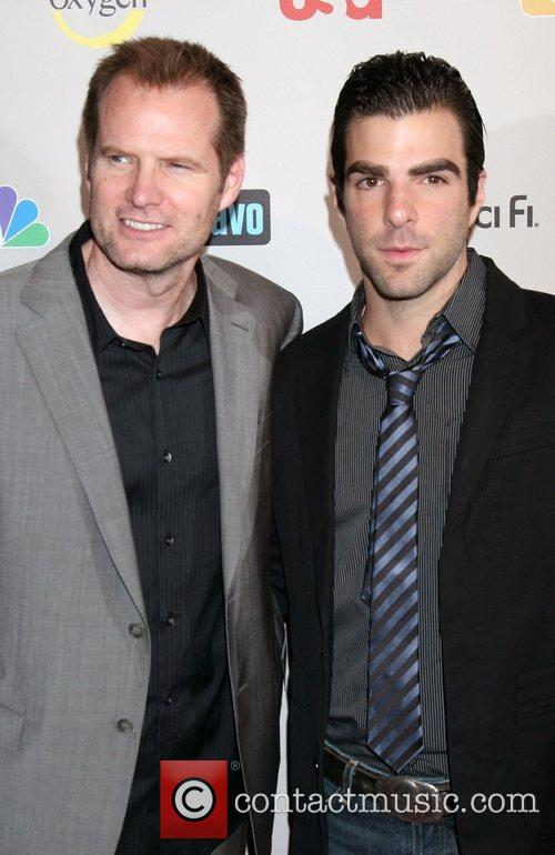 Jack Coleman and Zachery Quinto 2