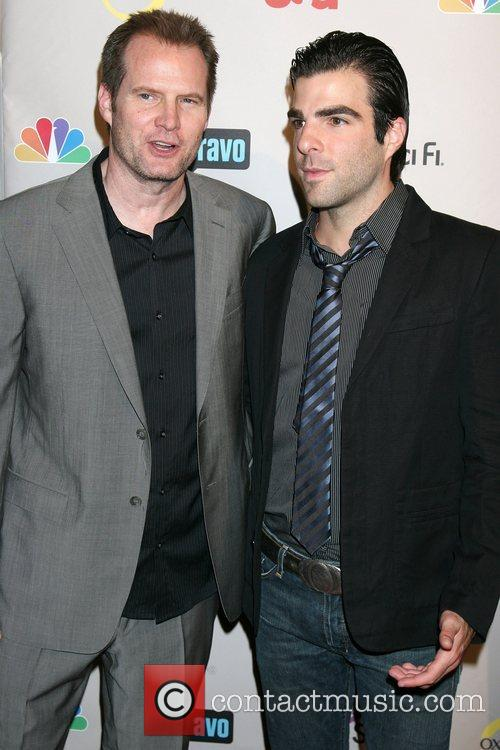 Jack Coleman and Zachery Quinto 1