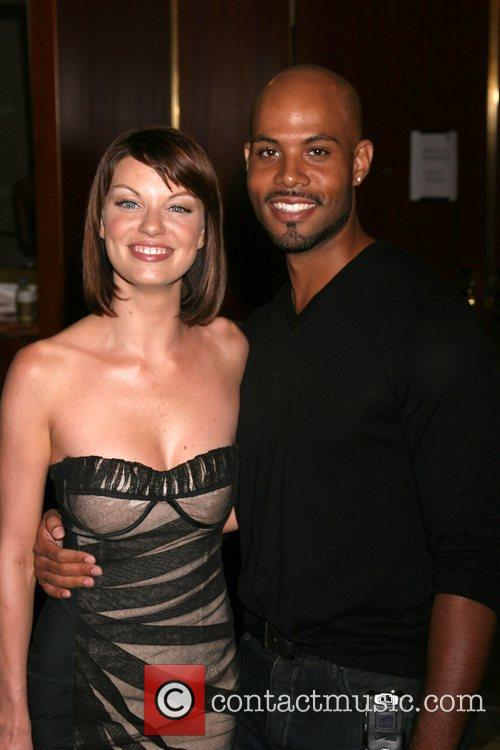 Nicole Hiltz and Todd Williams NBC TCA Party...