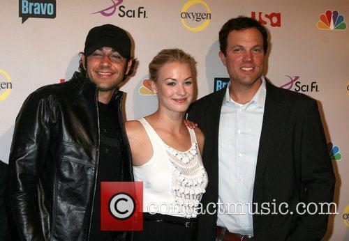 Zach Levi, Yvonne Strahovski and Adam Baldwin NBC...