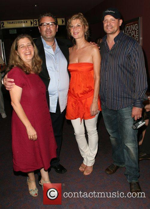 Karen Shapiro, Guest, Michele Laroque and Eddie O'Flaherty,...