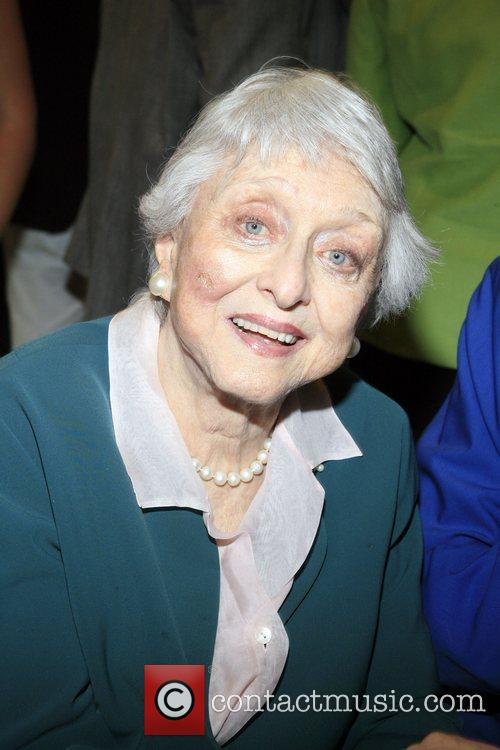 Celeste Holm at the opening of The Arts...