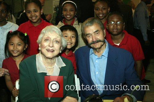 Celeste Holm, Leroy Neiman and The Children