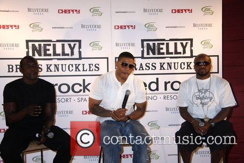 Akon, Nelly and Jermaine Dupri 6