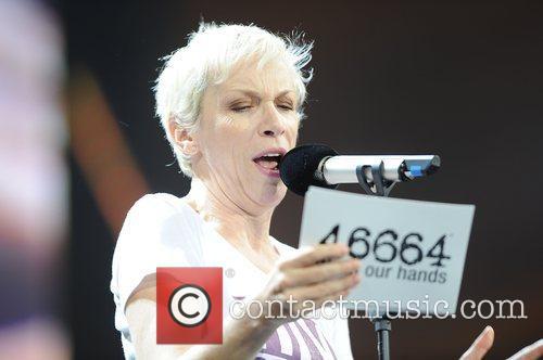 Annie Lennox and Nelson Mandela 7